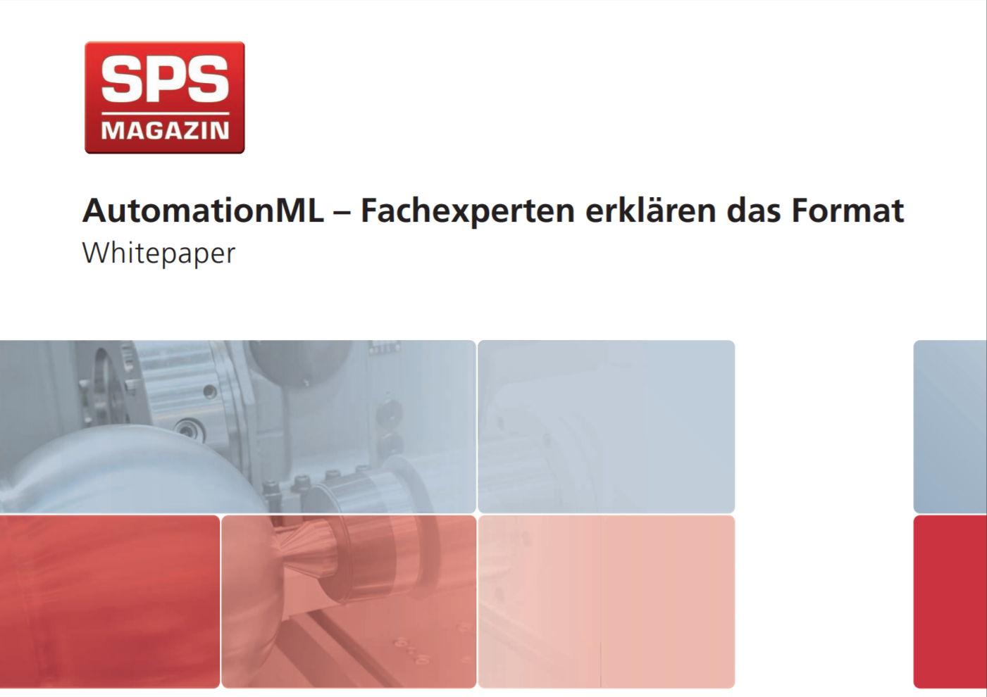 AutomationML – Fachexperten erklären das Format