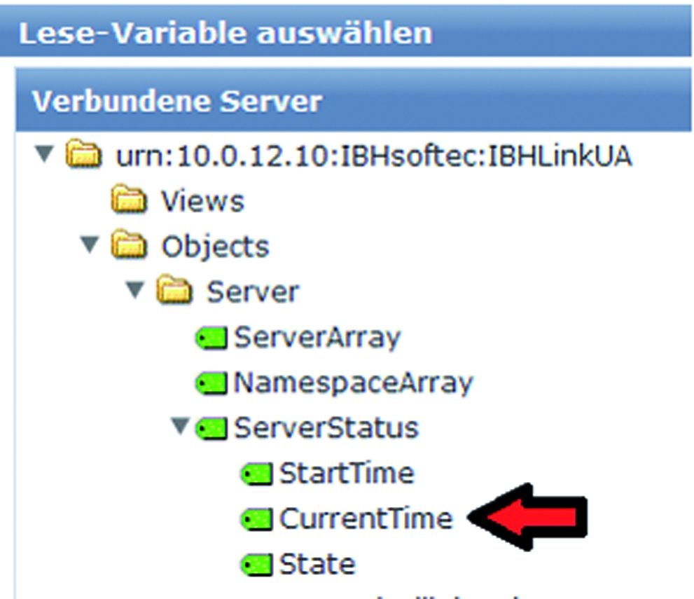 Die Konfiguration der Client-Funktion erfolgt über die Weboberfläche.