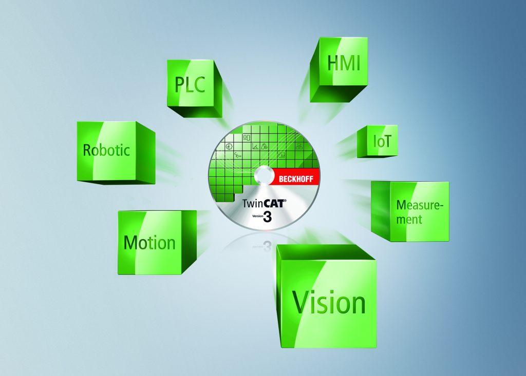 TwinCAT Vision ist integraler Bestandteil von TwinCAT.