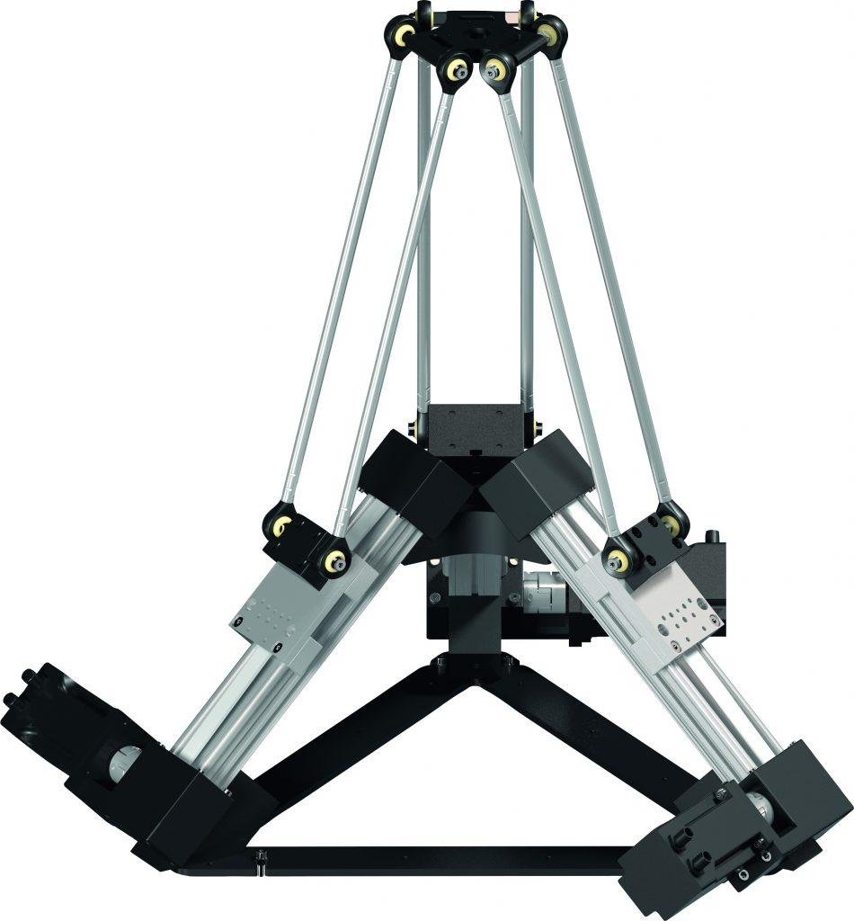 Die neue modulare Parallelkinematik ermöglicht unkomplizierte und kostengünstige Robotikanwendungen.