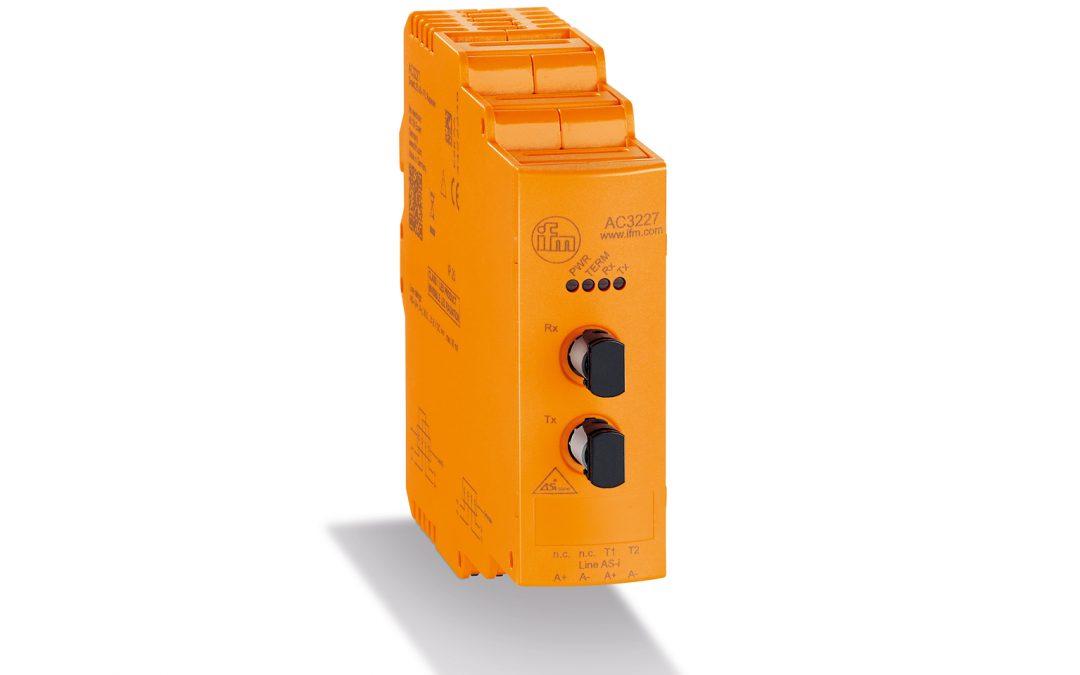 Übertragung von AS-i-Signalen über Lichtwellenleiter