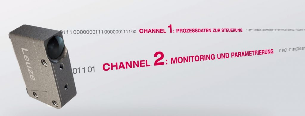 Während beim Dual Channel Prinzip über den ersten Sensorkanal die Daten zur Prozesssteuerung in Echtzeit übertragen werden, laufen über den zweiten Sensorkanal die Informationen für das Monitoring und die Analyse der Maschine.