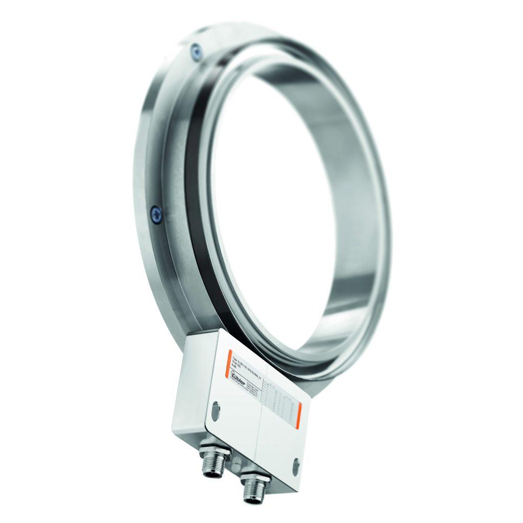 Für Wellendurchmesser bis 740mm wird das magnetische Messsystem als Sensorkopf und Magnetring angeboten.