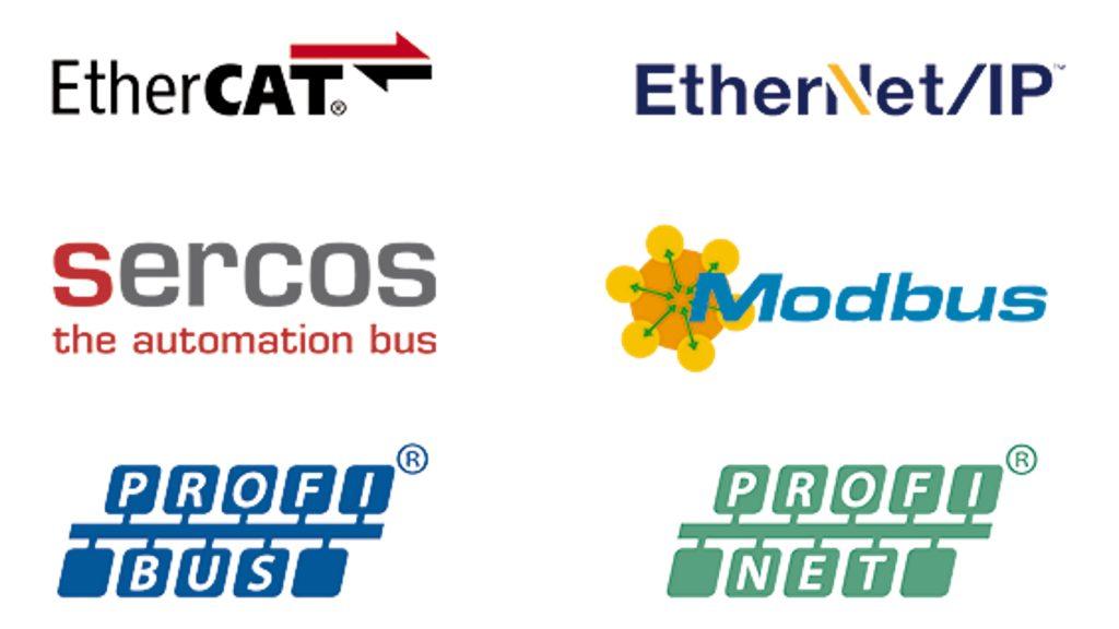 Das Axioline-E-System unterstützt alle relevanten Ethernet-basierten Kommunikationsprotokolle.