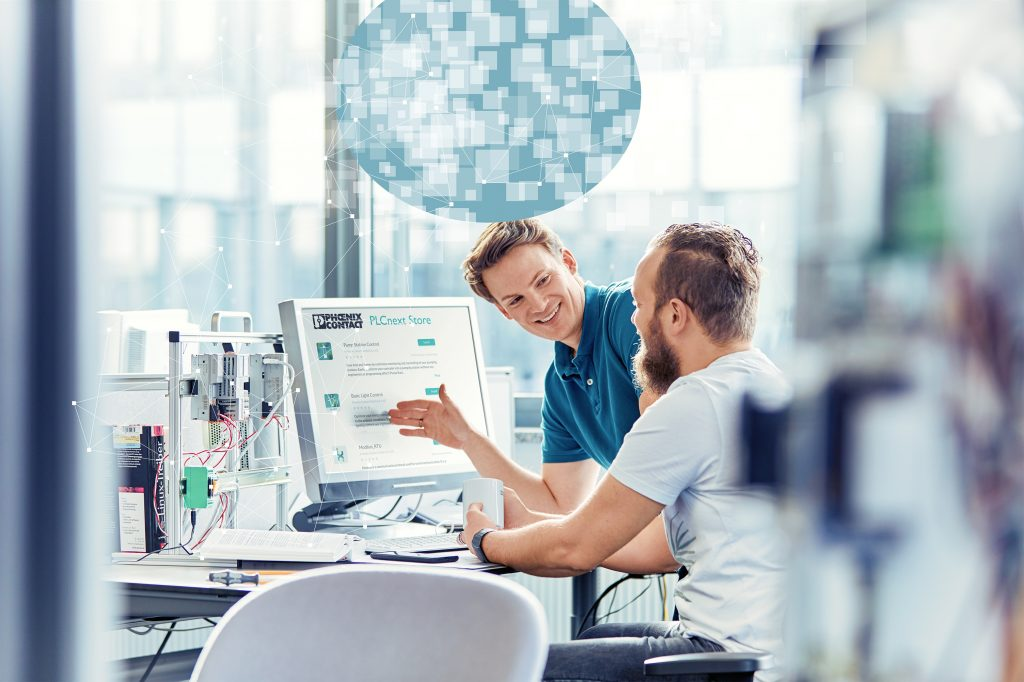 Durch Nutzung der Engineering-Plattform PLCnext Engineer lassen sich Entwicklungszeiten deutlich verkürzen