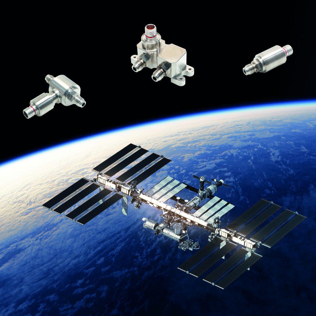 Absolut- und Differenzdrucktransmitter regeln regenerative Prozesse in der Sauerstoffversorgung der Internationalen Raumstation ISS.