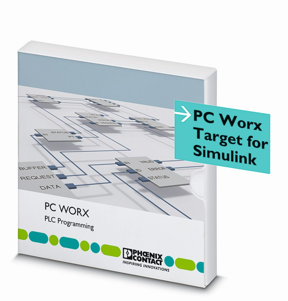 Add-on zur Einbindung und Ausführung von Matlab/Simulink-Modellen auf den Steuerungen von Phoenix Contact