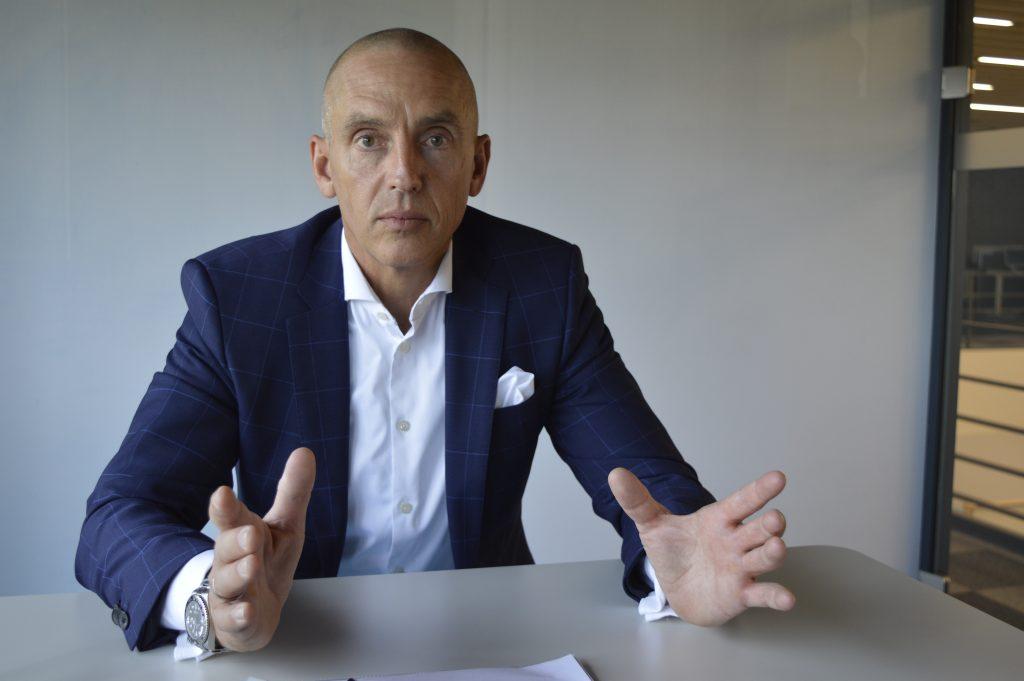 Steffen Winkler, Vertriebsleiter der Business Unit Automation & Electrification Solutions bei Bosch Rexroth