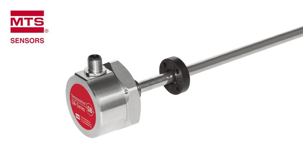 Der GB-M Sensor ist als analoge oder SSI Version erhältlich, über Bluetooth konfigurierbar und für Betriebstemperaturen bis zu 100°C ausgelegt.