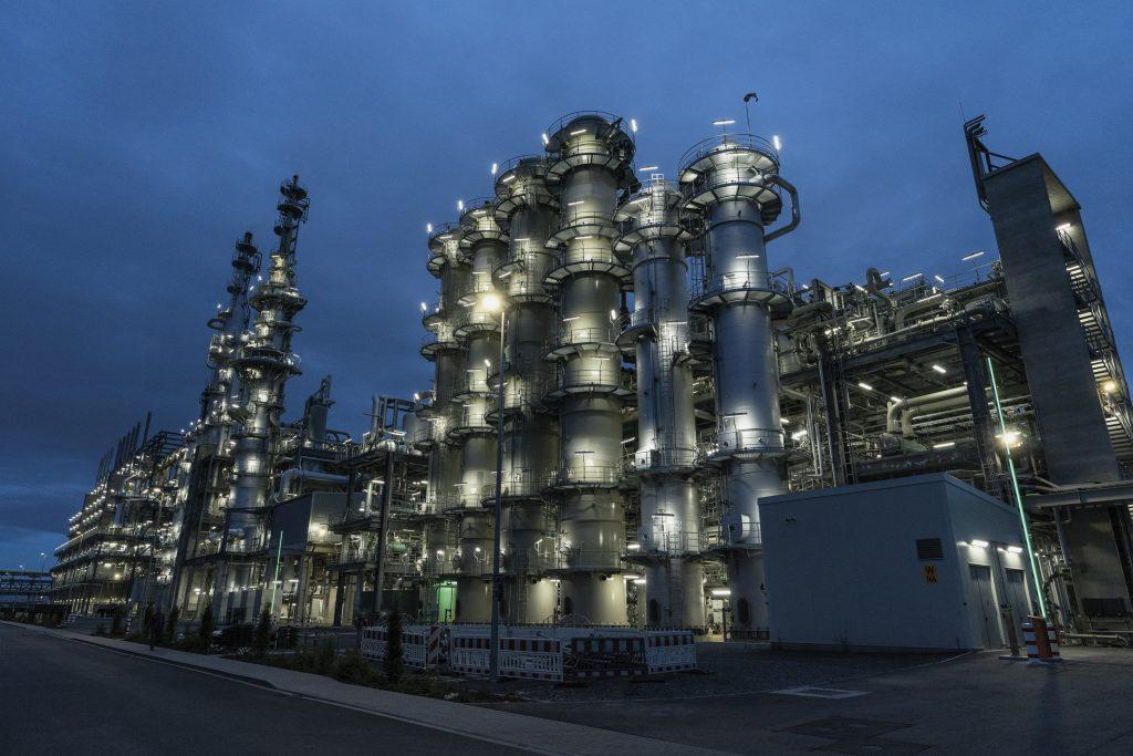 Die neue Anlage für Acetylen von BASF am Standort Ludwigshafen verfügt über eine jährliche Produktionskapazität von 90.000t.