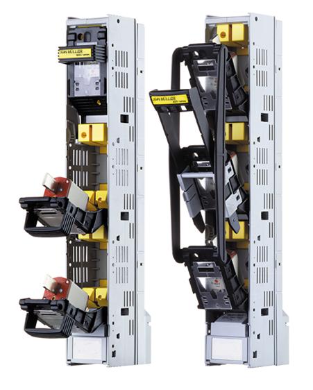 Sicherungs-Lastschaltleisten für 800V-Anwendungen