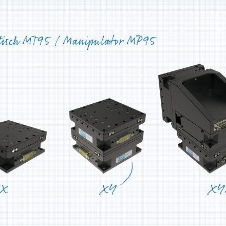 Mikrotisch für  Mehrachssysteme