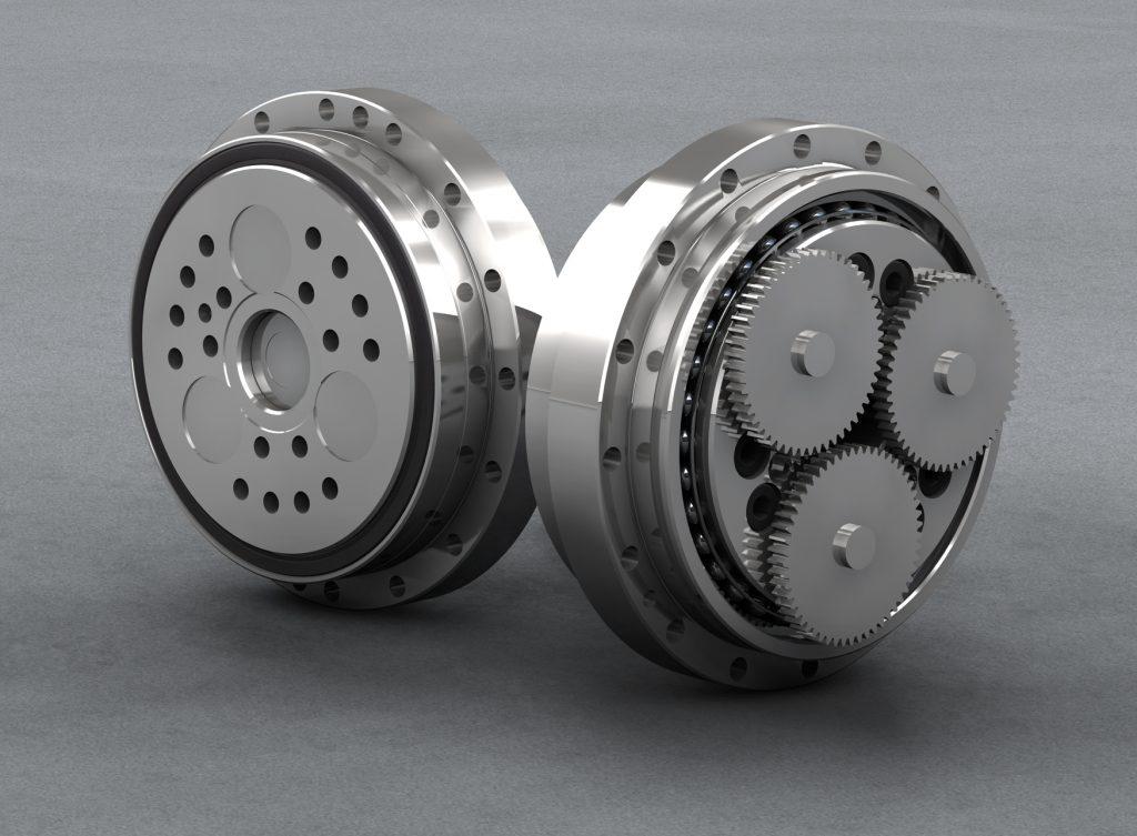 Die RV-N-Präzisionsgetriebe von Nabtesco erreichen hohe Drehmomentleistungen bei minimalem Platzbedarf