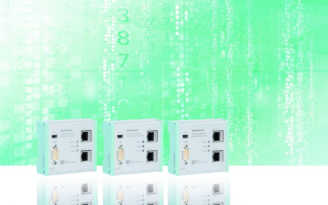 Gateway zur Anbindung von CAN-Geräten an Profinet