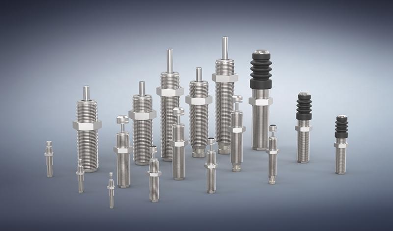 Die erweiterte Stoßdämpfer-Baureihe PowerStop mit den vier Serien Mini Energy, Standard Energy, High Energy und Adjustable Energy.