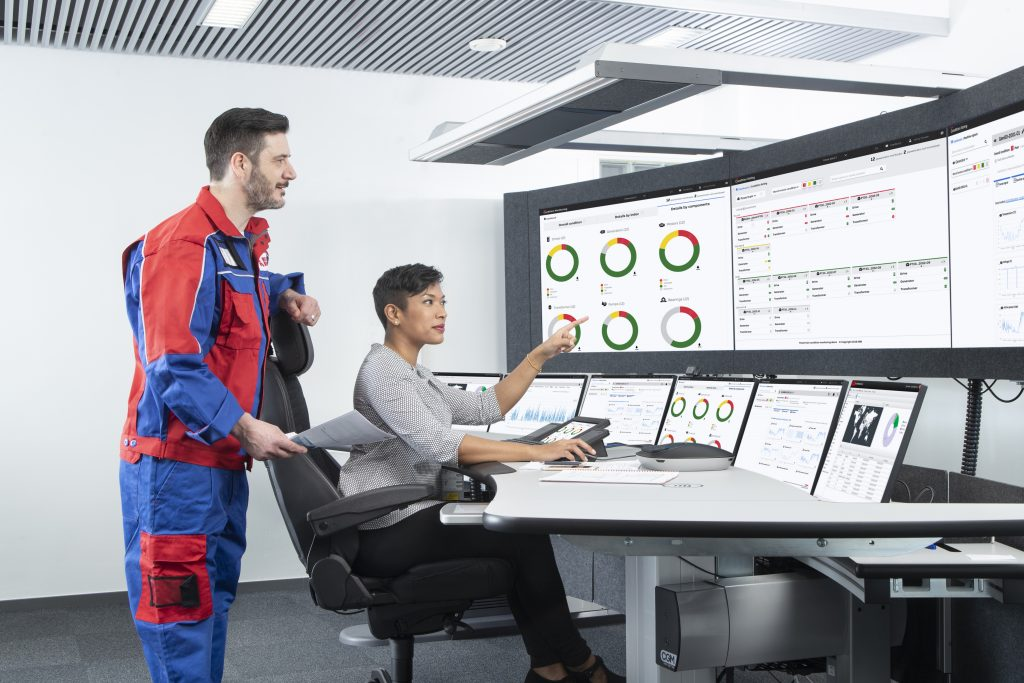 ABB Ability Condition Monitoring for Powertrains bietet volle Transparenz bei allen Parametern des Antriebsstrangs.