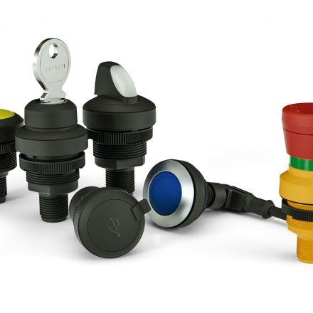Taster und Schalter mit M12-Anschluss