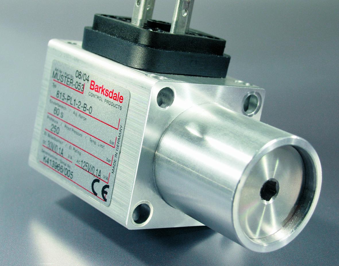 Mechanische SIL3-Druckschalter