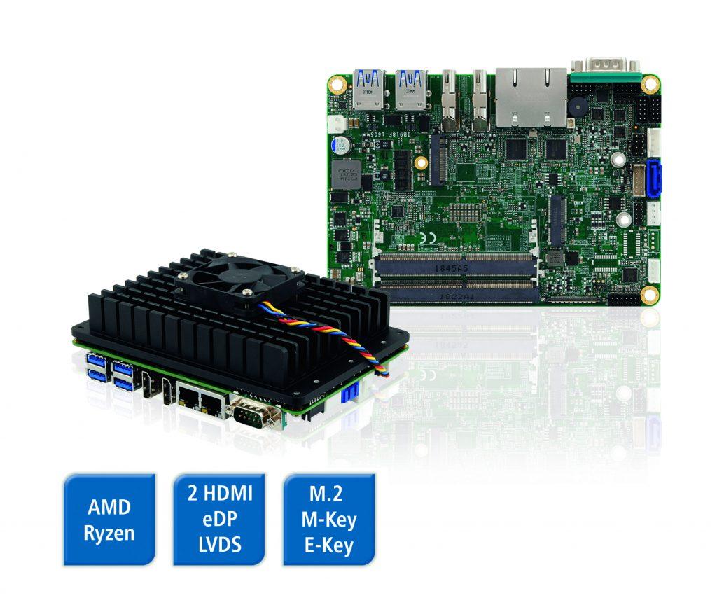 Das IB918 ermöglicht Visualisierungen auf bis zu vier 4K-Monitoren.