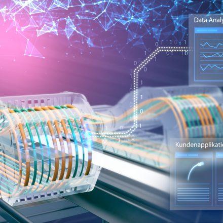 Intelligente Energiezuführung