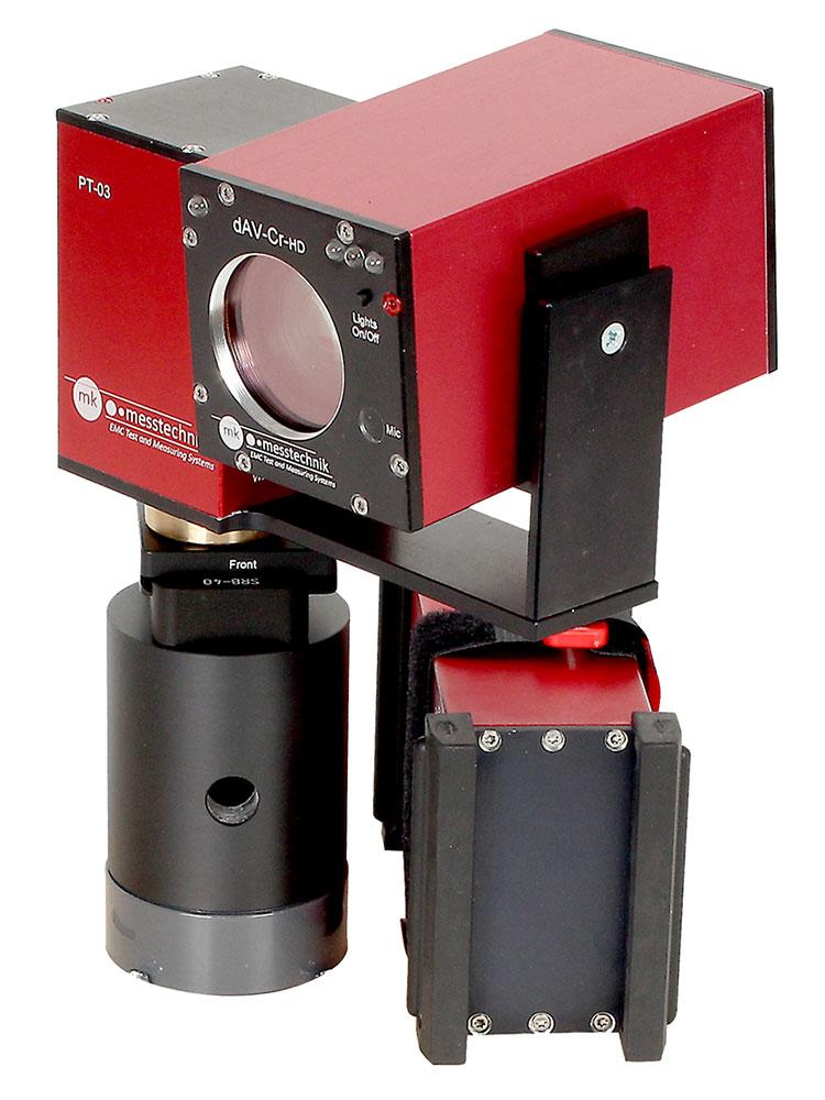 In den EMV-Prüfkammern der Automobilindustrie kommen robuste Kamerasysteme von MK-Messtechnik zum Einsatz.