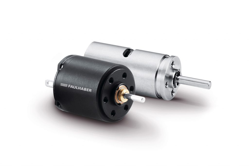 Edelmetallkommutierte DC-Kleinstmotoren von Faulhaber sind die treibende Kraft im Kameraschwenkarm.