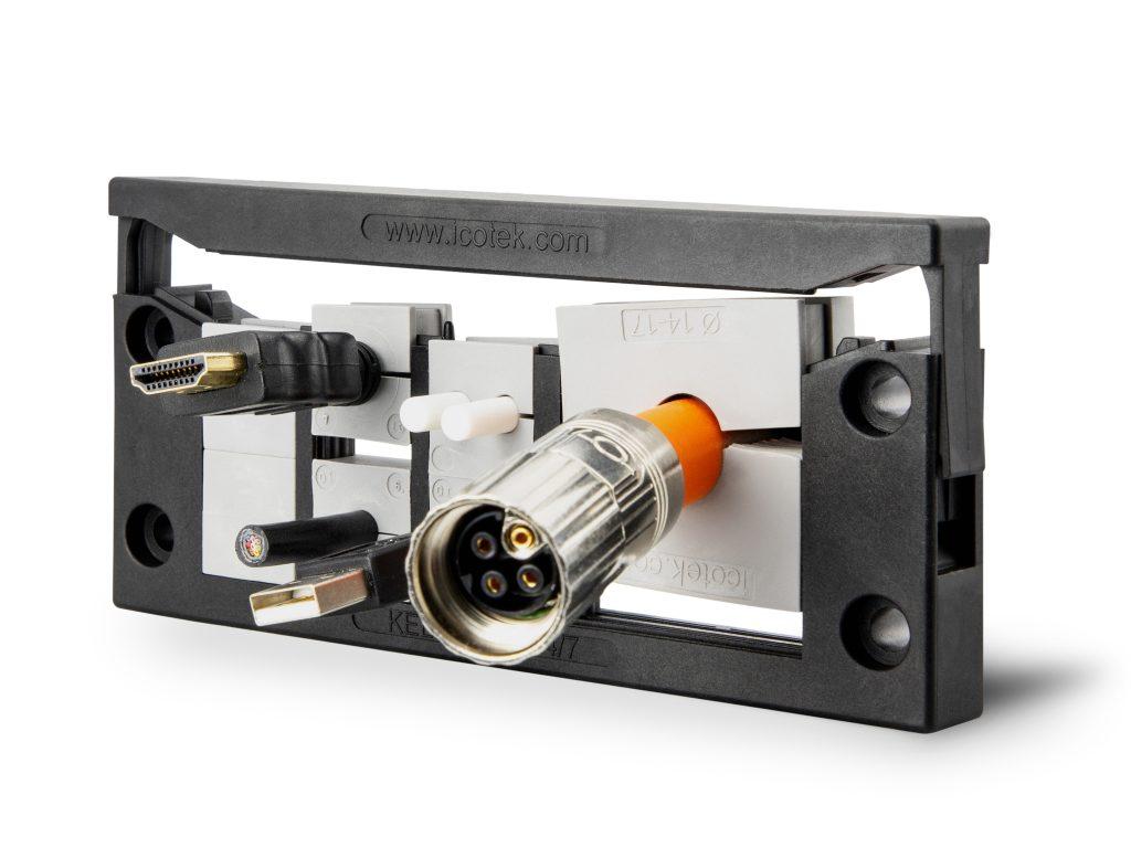 Die Mehrbereichstüllen QTMB zeichnen sich durch eine hohe Flexibilität von bis zu 3mm aus.