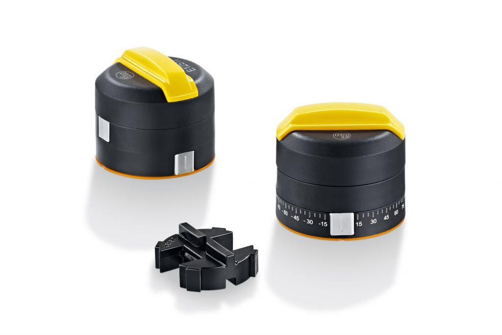 Dank eines Adapters ist die Verwendung auf Wellenhöhen von 20mm möglich.