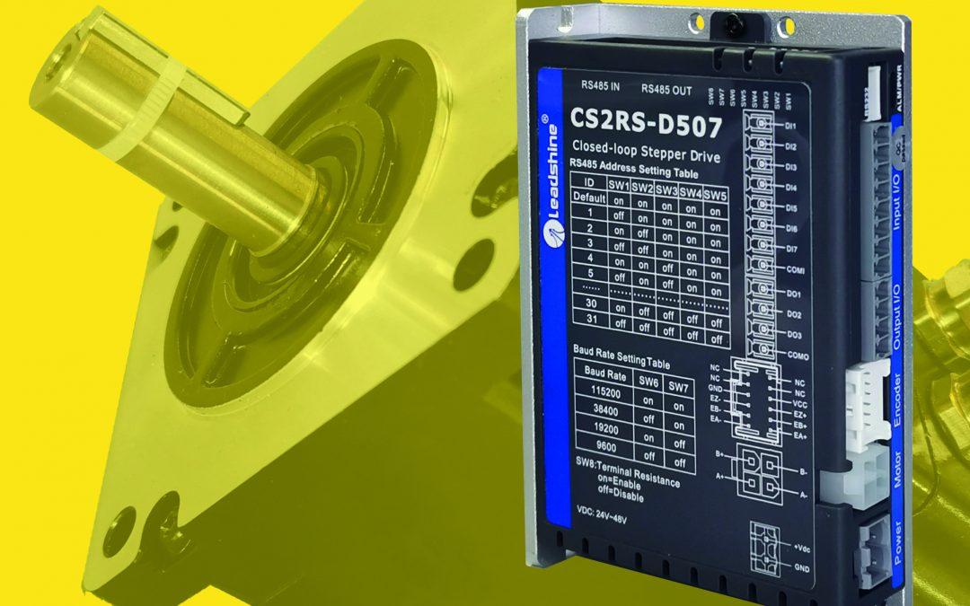 Schrittmotor-Set mit Encoder und Steuerung