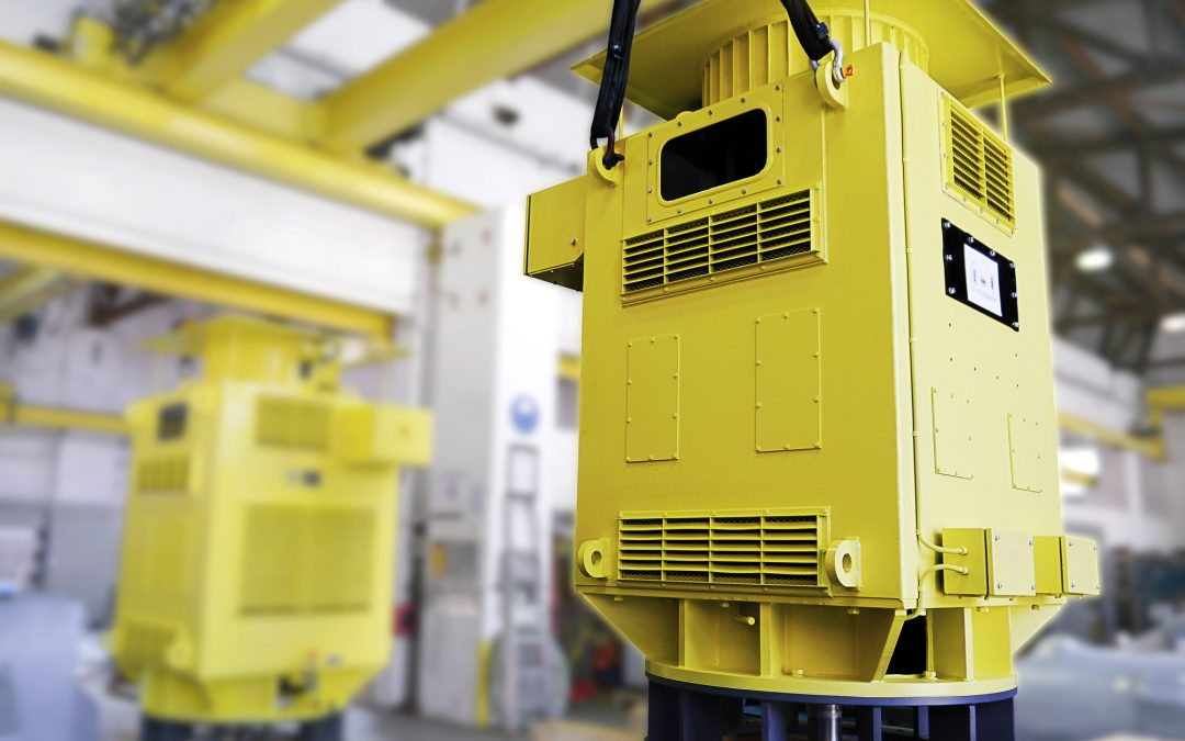 Sondermotoren für Pumpenstation