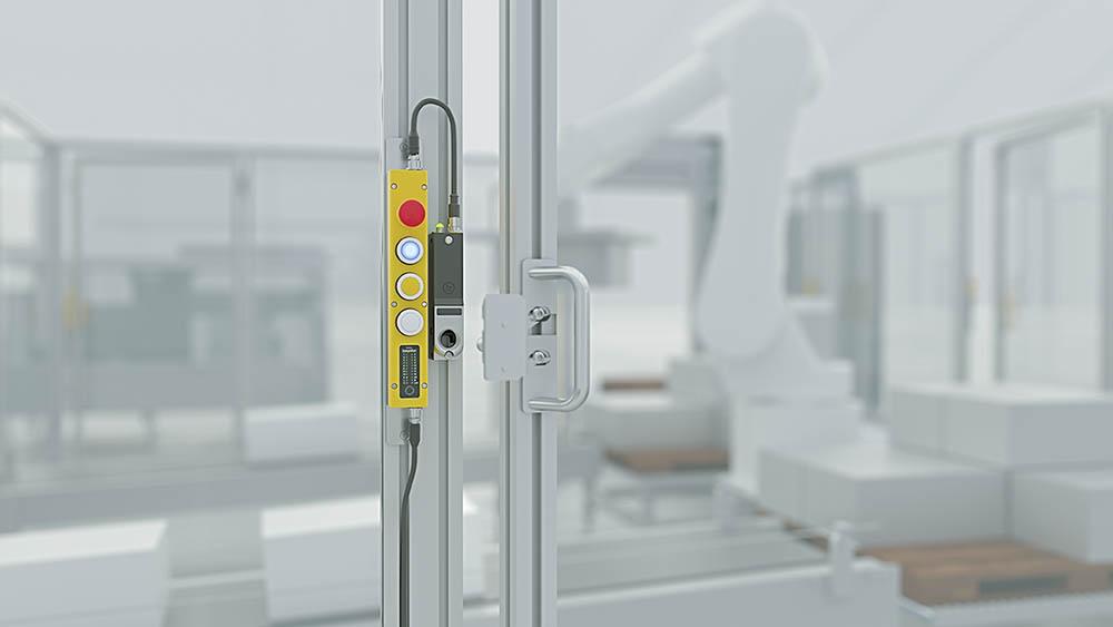 Hochkodierte RFID-Zuhaltung