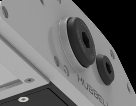 Die Notfall-Ausführung der Protecta X LED wird von einem Akku-Stick mit Strom versorgt, der sich in die Seite der Leuchte einsetzen lässt.