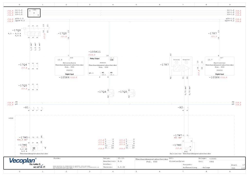 Makros und Makrovarianten beschleunigen die Erstellung von Elektroplänen erheblich.