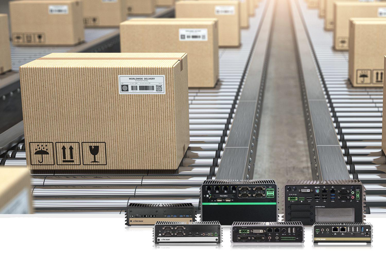 Embedded-PCs für smarte Lagerlogistik
