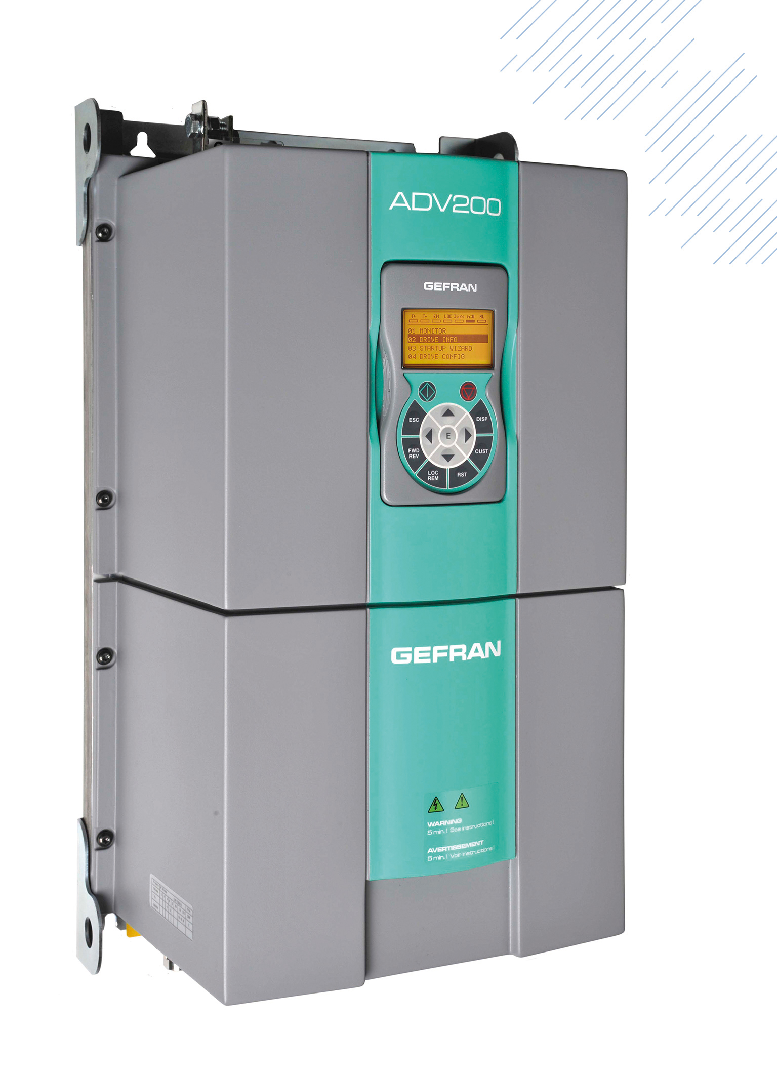 Frequenzumrichter mit Flüssigkeitskühlung