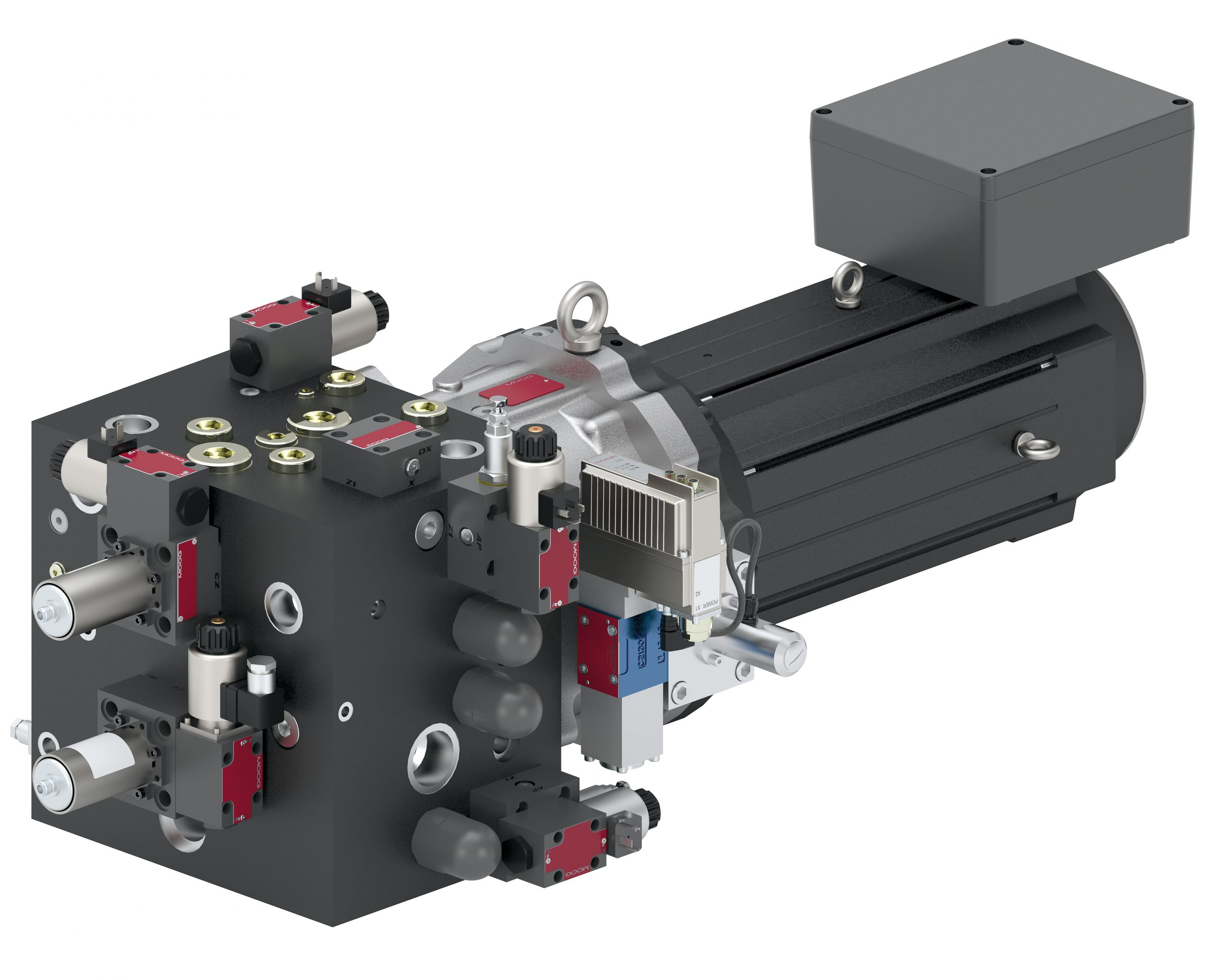 Modulares elektrohydrostatisches Antriebssystem