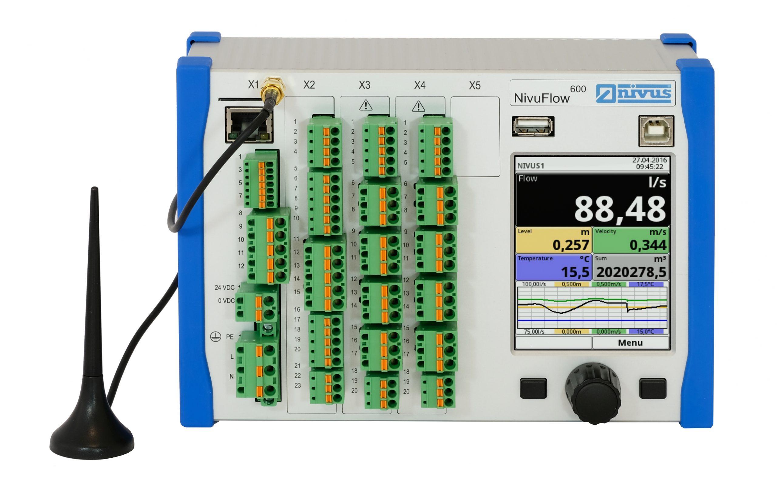 Durchflussmessgerät mit IoT-Funktion