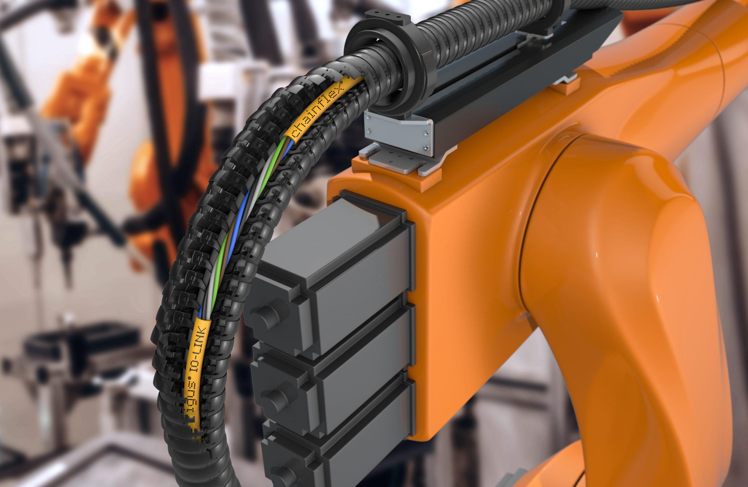 IO-Link-Leitungen für Energieketten und Roboter