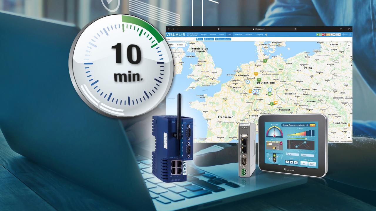 IIoT-Plattform für schnellen Einsatz